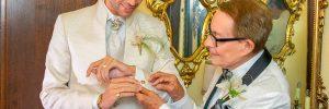 La boda en Sitges de Erik Putzbach y Rafael de Marchena